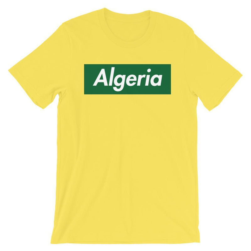 Repparel Algeria Yellow / S Hypebeast Streetwear Eco-Friendly Full Cotton T-Shirt