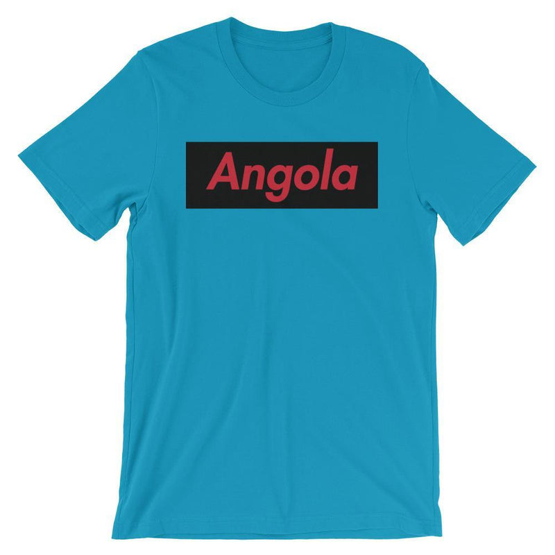 Repparel Angola Aqua / S Hypebeast Streetwear Eco-Friendly Full Cotton T-Shirt