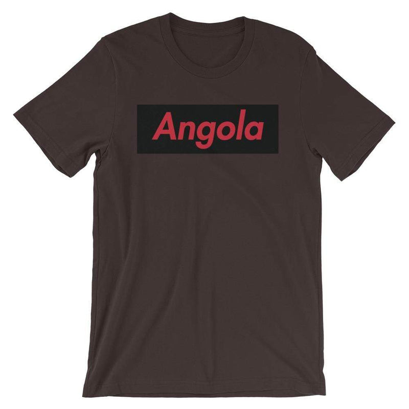 Repparel Angola Brown / S Hypebeast Streetwear Eco-Friendly Full Cotton T-Shirt