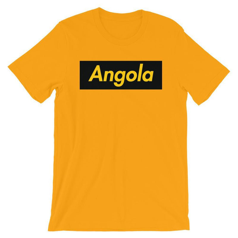 Repparel Angola Gold / S Hypebeast Streetwear Eco-Friendly Full Cotton T-Shirt