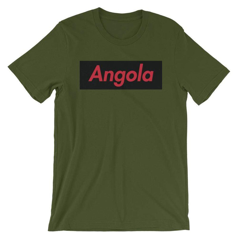 Repparel Angola Olive / S Hypebeast Streetwear Eco-Friendly Full Cotton T-Shirt