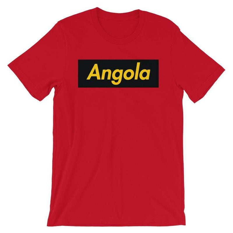 Repparel Angola Red / S Hypebeast Streetwear Eco-Friendly Full Cotton T-Shirt