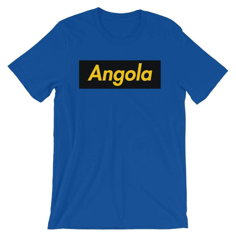 Repparel Angola True Royal / S Hypebeast Streetwear Eco-Friendly Full Cotton T-Shirt