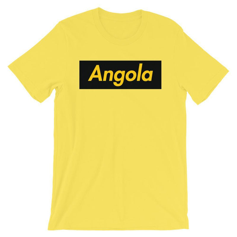 Repparel Angola Yellow / S Hypebeast Streetwear Eco-Friendly Full Cotton T-Shirt