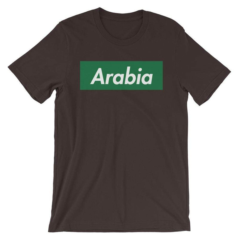 Repparel Arabia Brown / S Hypebeast Streetwear Eco-Friendly Full Cotton T-Shirt