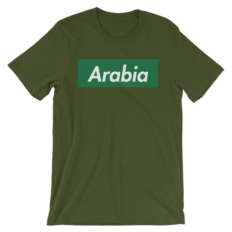 Repparel Arabia Olive / S Hypebeast Streetwear Eco-Friendly Full Cotton T-Shirt