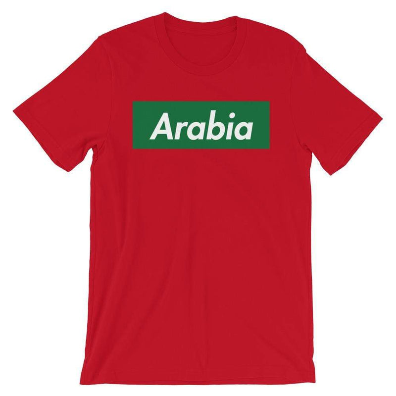 Repparel Arabia Red / S Hypebeast Streetwear Eco-Friendly Full Cotton T-Shirt