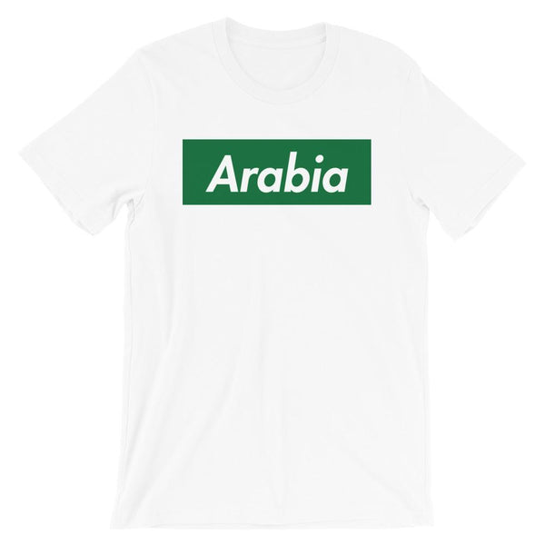 Repparel Arabia White / XS Hypebeast Streetwear Eco-Friendly Full Cotton T-Shirt