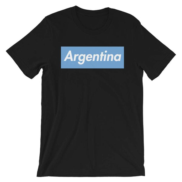 Repparel Argentina Black / XS Hypebeast Streetwear Eco-Friendly Full Cotton T-Shirt