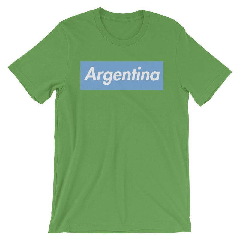 Repparel Argentina Leaf / S Hypebeast Streetwear Eco-Friendly Full Cotton T-Shirt