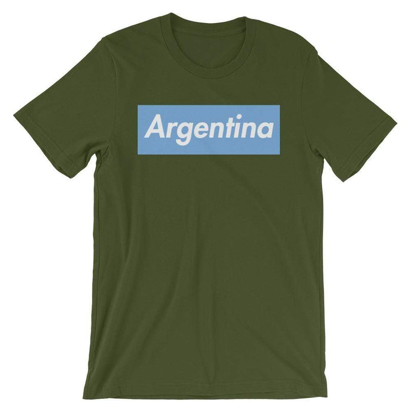 Repparel Argentina Olive / S Hypebeast Streetwear Eco-Friendly Full Cotton T-Shirt