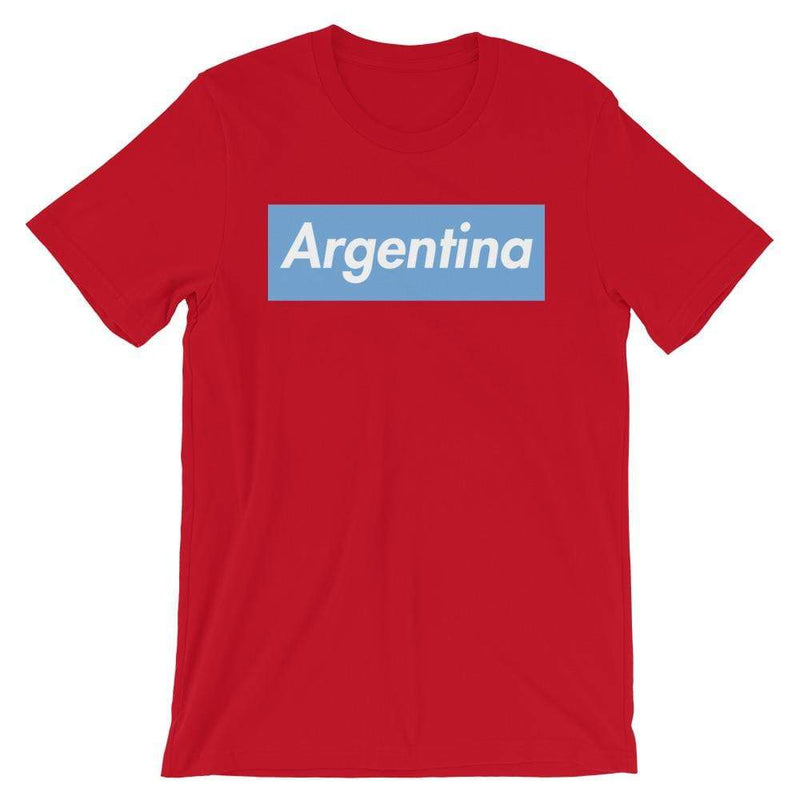 Repparel Argentina Red / S Hypebeast Streetwear Eco-Friendly Full Cotton T-Shirt