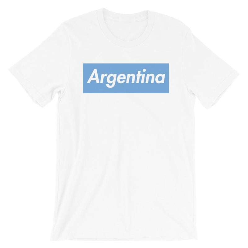Repparel Argentina White / XS Hypebeast Streetwear Eco-Friendly Full Cotton T-Shirt