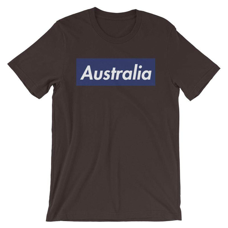 Repparel Australia Brown / S Hypebeast Streetwear Eco-Friendly Full Cotton T-Shirt