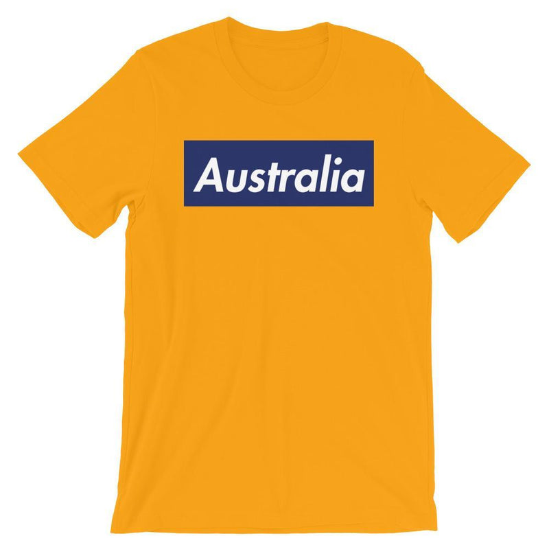 Repparel Australia Gold / S Hypebeast Streetwear Eco-Friendly Full Cotton T-Shirt