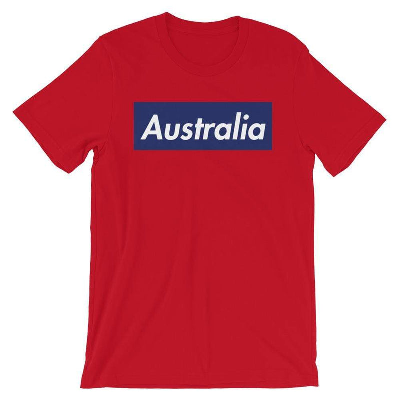 Repparel Australia Red / S Hypebeast Streetwear Eco-Friendly Full Cotton T-Shirt