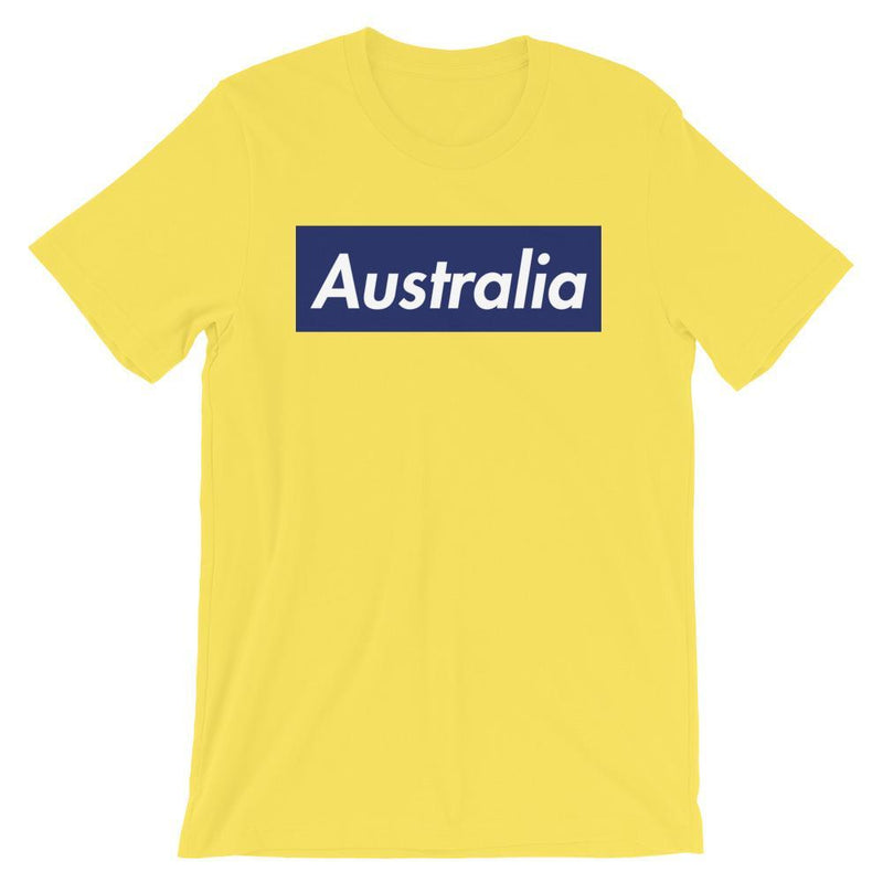 Repparel Australia Yellow / S Hypebeast Streetwear Eco-Friendly Full Cotton T-Shirt