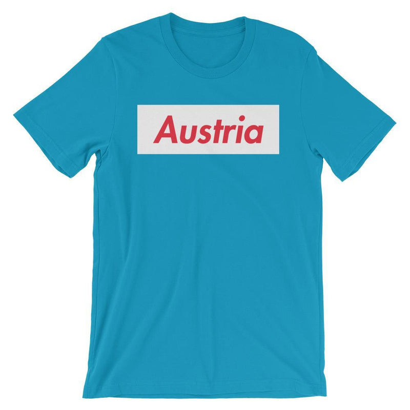 Repparel Austria Aqua / S Hypebeast Streetwear Eco-Friendly Full Cotton T-Shirt