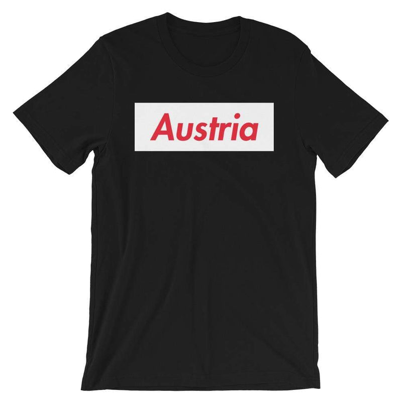 Repparel Austria Black / XS Hypebeast Streetwear Eco-Friendly Full Cotton T-Shirt