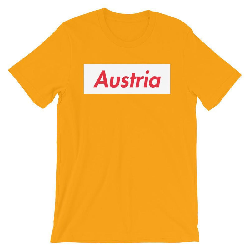 Repparel Austria Gold / S Hypebeast Streetwear Eco-Friendly Full Cotton T-Shirt