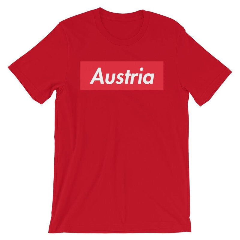 Repparel Austria Red / S Hypebeast Streetwear Eco-Friendly Full Cotton T-Shirt