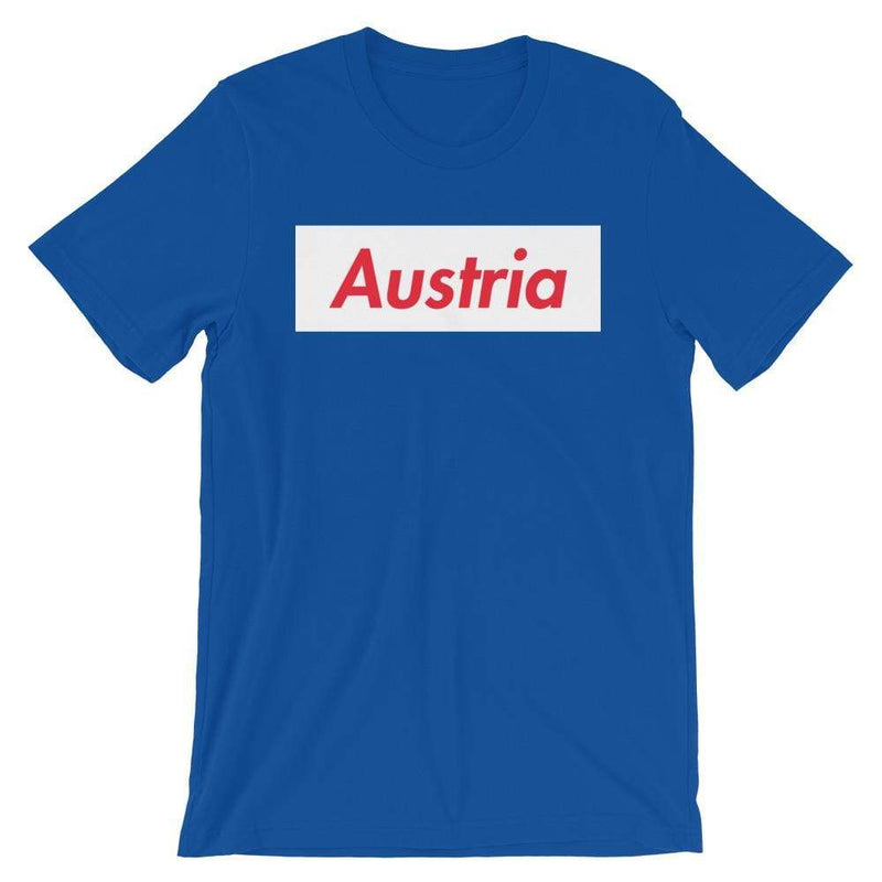 Repparel Austria True Royal / S Hypebeast Streetwear Eco-Friendly Full Cotton T-Shirt