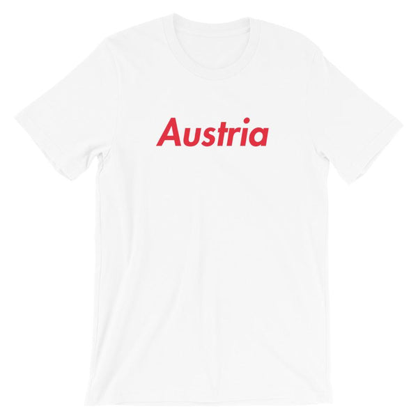 Repparel Austria White / XS Hypebeast Streetwear Eco-Friendly Full Cotton T-Shirt