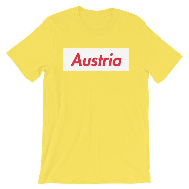 Repparel Austria Yellow / S Hypebeast Streetwear Eco-Friendly Full Cotton T-Shirt