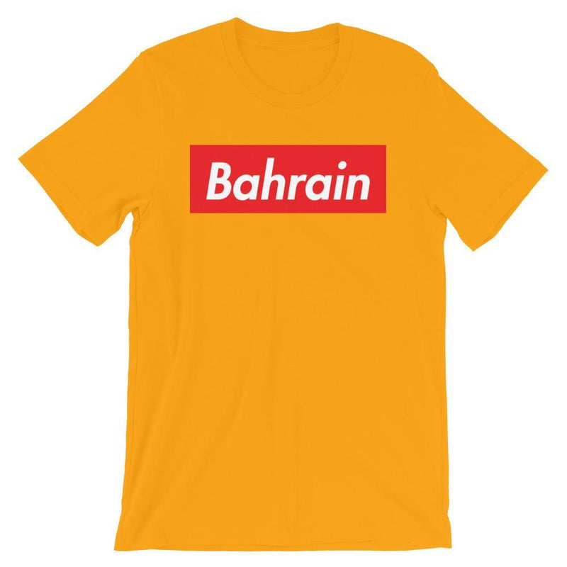 Repparel Bahrain Gold / S Hypebeast Streetwear Eco-Friendly Full Cotton T-Shirt