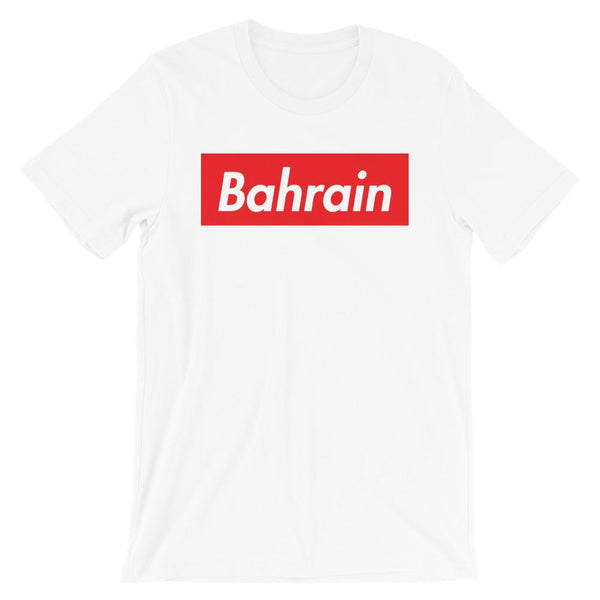 Repparel Bahrain White / XS Hypebeast Streetwear Eco-Friendly Full Cotton T-Shirt
