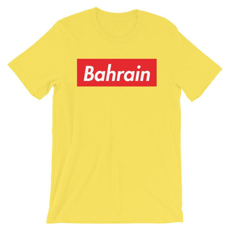 Repparel Bahrain Yellow / S Hypebeast Streetwear Eco-Friendly Full Cotton T-Shirt