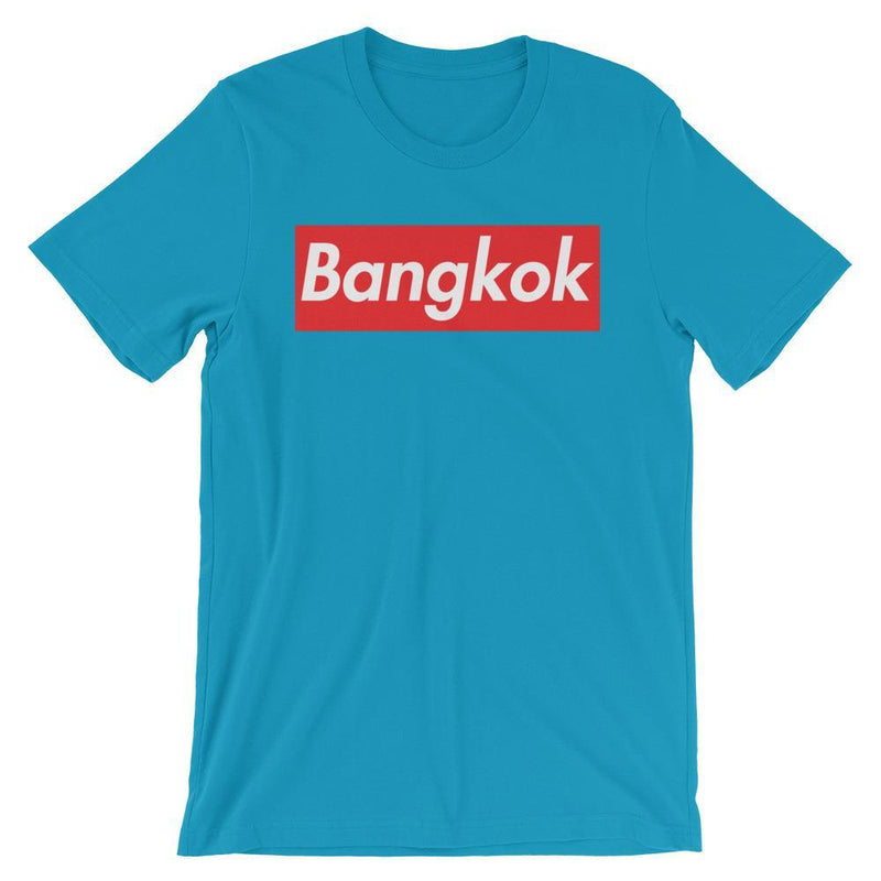 Repparel Bangkok Aqua / S Hypebeast Streetwear Eco-Friendly Full Cotton T-Shirt