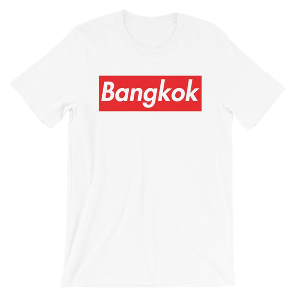 Repparel Bangkok White / XS Hypebeast Streetwear Eco-Friendly Full Cotton T-Shirt