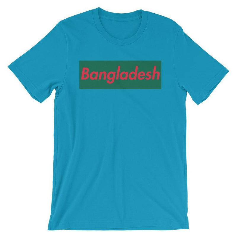 Repparel Bangladesh Aqua / S Hypebeast Streetwear Eco-Friendly Full Cotton T-Shirt