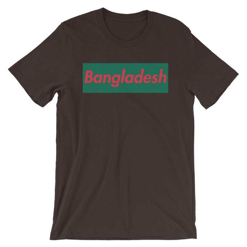 Repparel Bangladesh Brown / S Hypebeast Streetwear Eco-Friendly Full Cotton T-Shirt