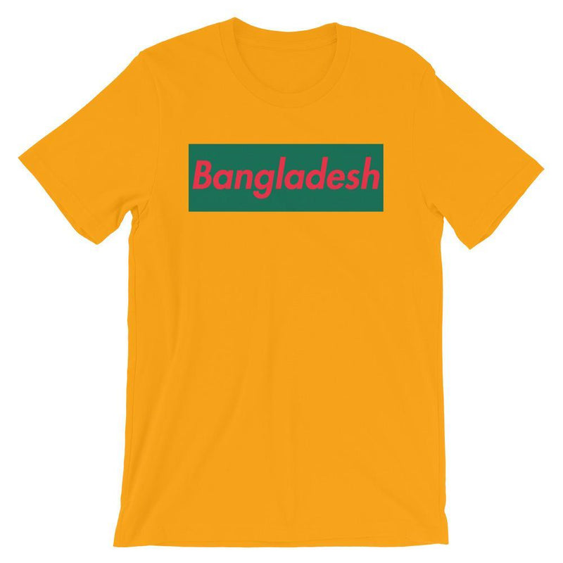 Repparel Bangladesh Gold / S Hypebeast Streetwear Eco-Friendly Full Cotton T-Shirt