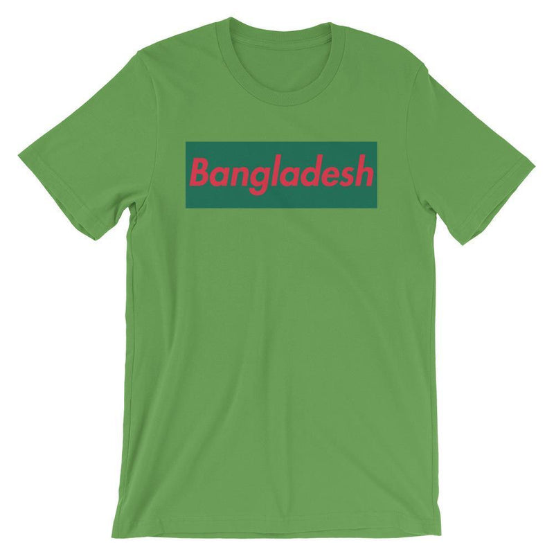 Repparel Bangladesh Leaf / S Hypebeast Streetwear Eco-Friendly Full Cotton T-Shirt