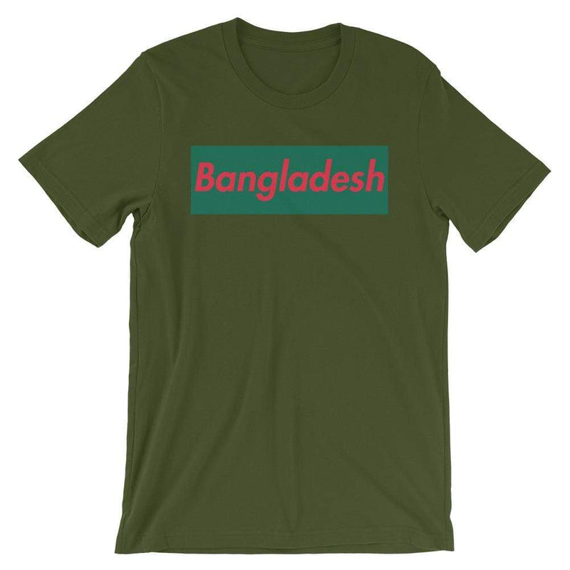 Repparel Bangladesh Olive / S Hypebeast Streetwear Eco-Friendly Full Cotton T-Shirt
