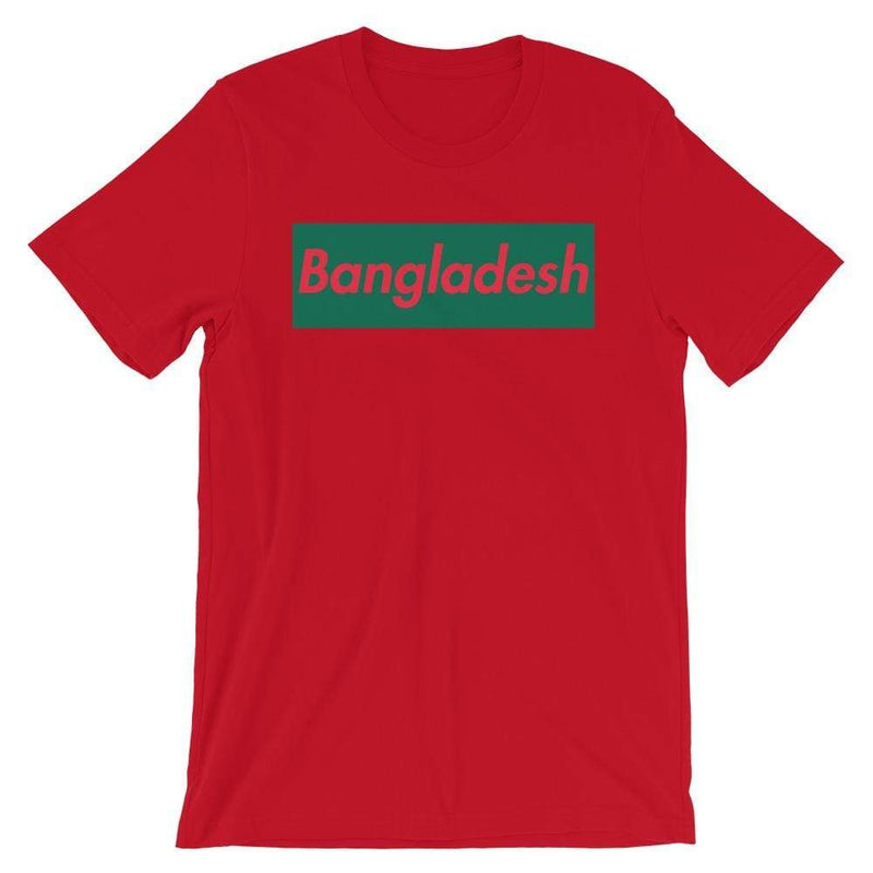 Repparel Bangladesh Red / S Hypebeast Streetwear Eco-Friendly Full Cotton T-Shirt