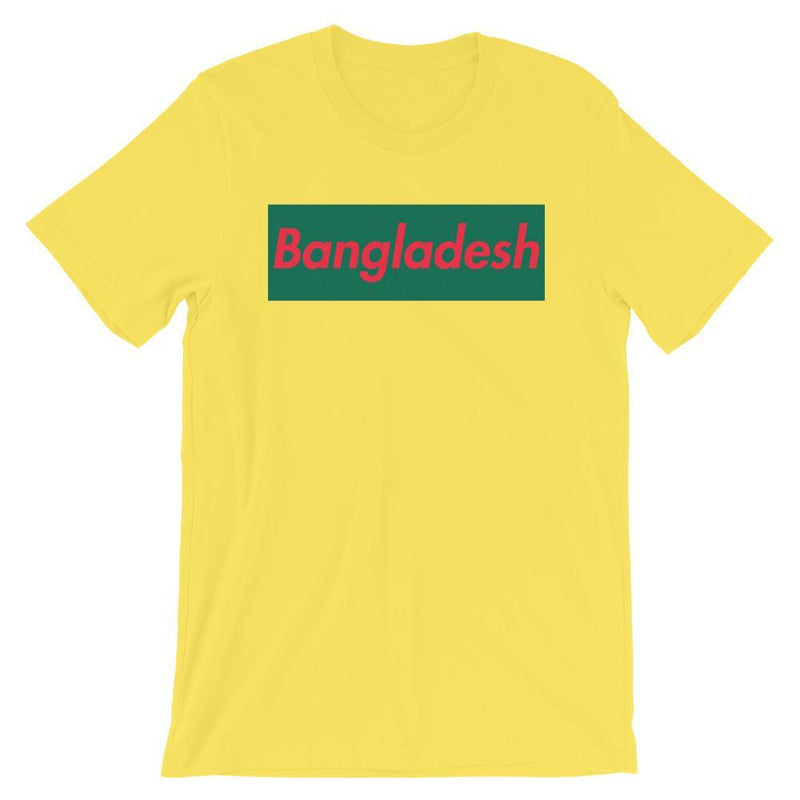 Repparel Bangladesh Yellow / S Hypebeast Streetwear Eco-Friendly Full Cotton T-Shirt