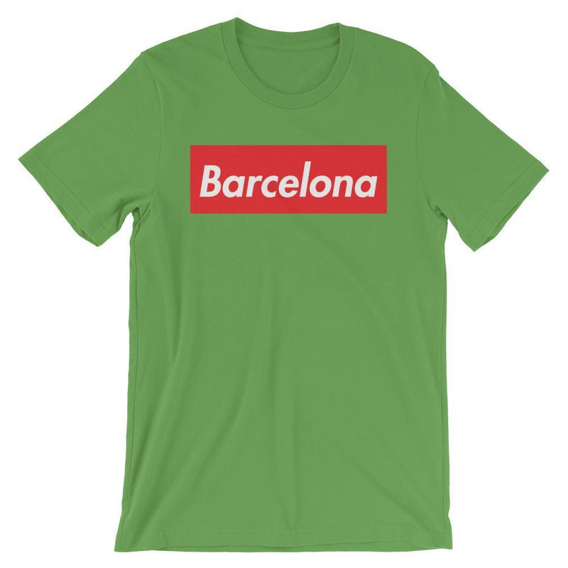 Repparel Barcelona Leaf / S Hypebeast Streetwear Eco-Friendly Full Cotton T-Shirt