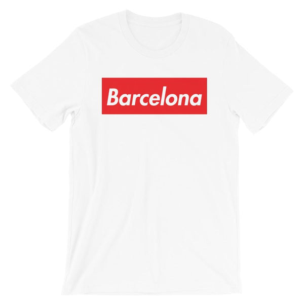 Repparel Barcelona White / XS Hypebeast Streetwear Eco-Friendly Full Cotton T-Shirt