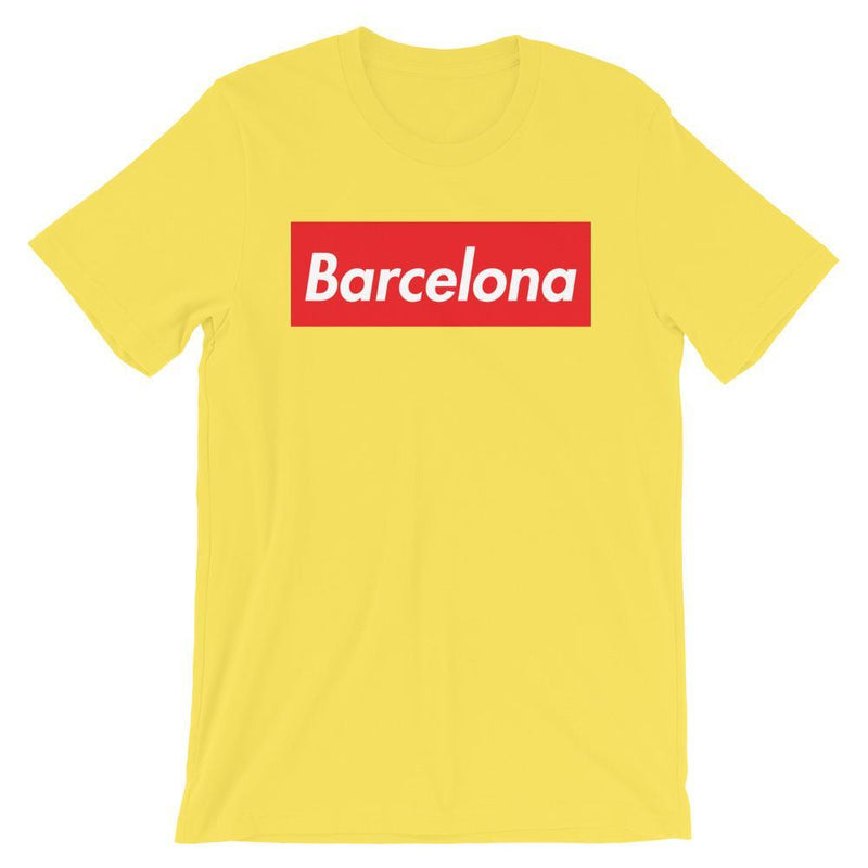 Repparel Barcelona Yellow / S Hypebeast Streetwear Eco-Friendly Full Cotton T-Shirt