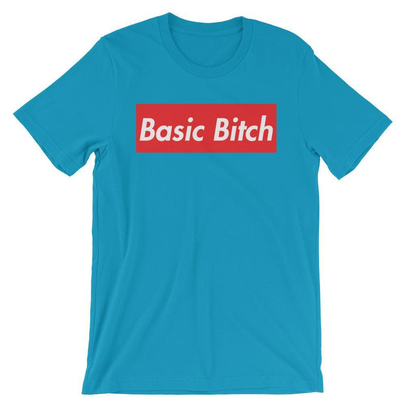 Repparel Basic Bitch Aqua / S Hypebeast Streetwear Eco-Friendly Full Cotton T-Shirt