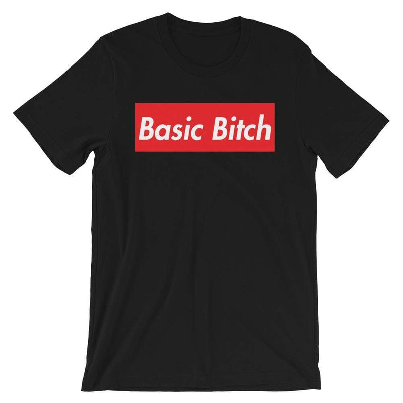 Repparel Basic Bitch Black / XS Hypebeast Streetwear Eco-Friendly Full Cotton T-Shirt