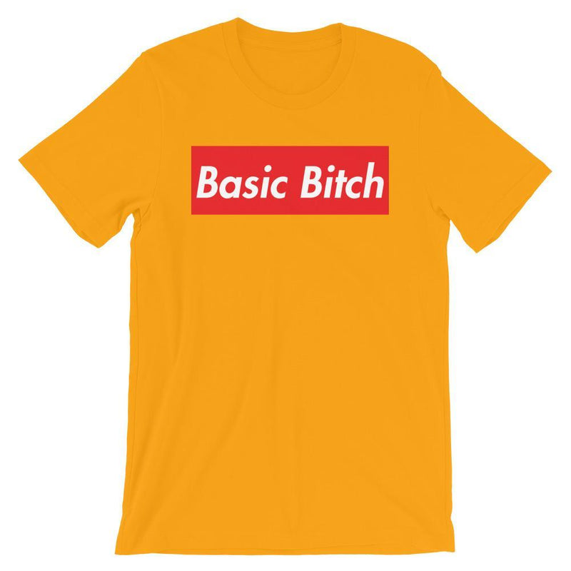 Repparel Basic Bitch Gold / S Hypebeast Streetwear Eco-Friendly Full Cotton T-Shirt
