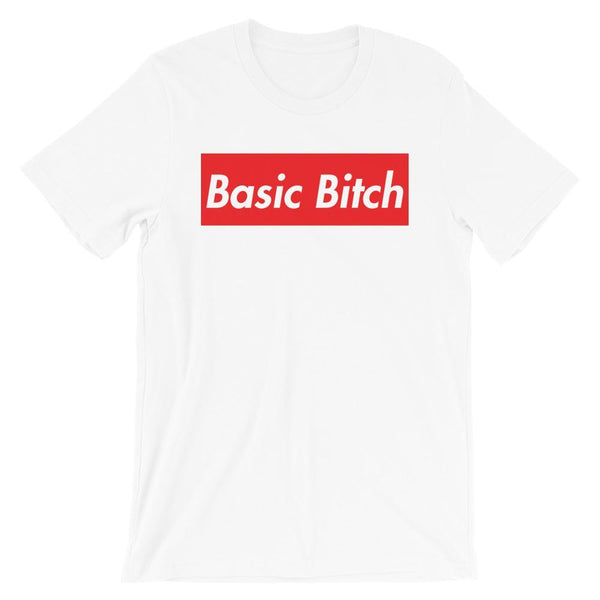 Repparel Basic Bitch White / XS Hypebeast Streetwear Eco-Friendly Full Cotton T-Shirt