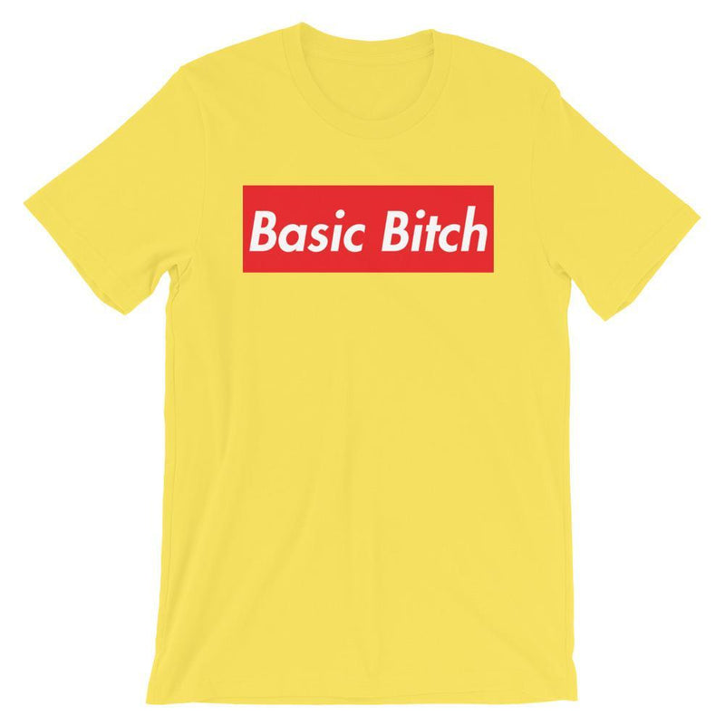 Repparel Basic Bitch Yellow / S Hypebeast Streetwear Eco-Friendly Full Cotton T-Shirt