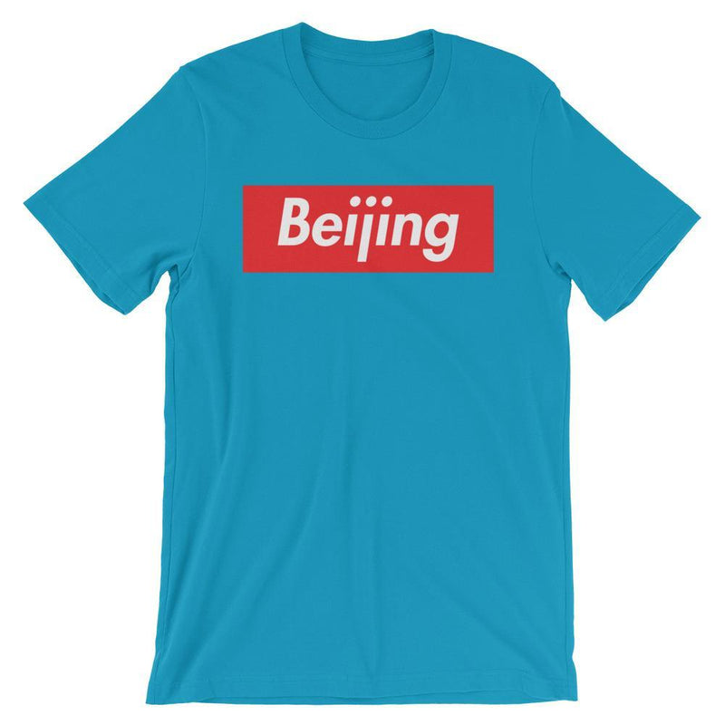 Repparel Beijing Aqua / S Hypebeast Streetwear Eco-Friendly Full Cotton T-Shirt