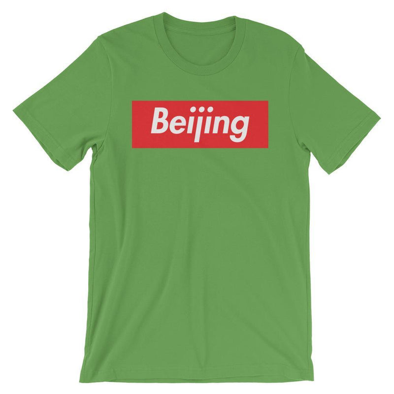 Repparel Beijing Leaf / S Hypebeast Streetwear Eco-Friendly Full Cotton T-Shirt